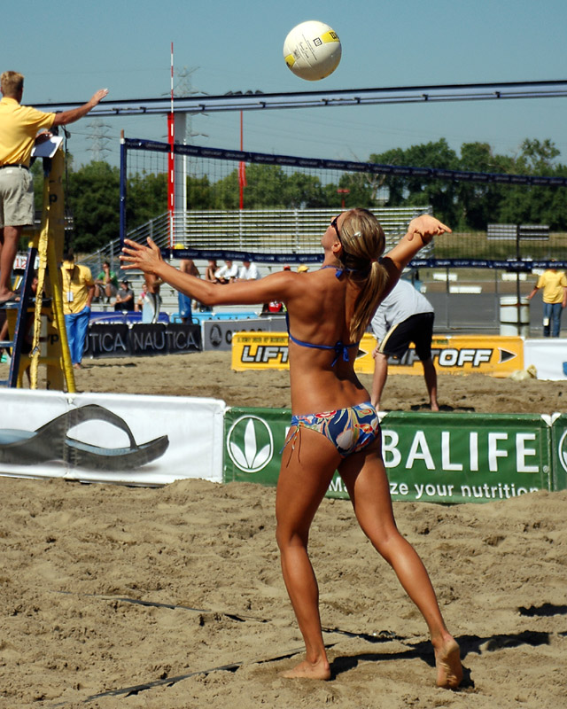 How that Sexy beach volleyball payers the amusing
