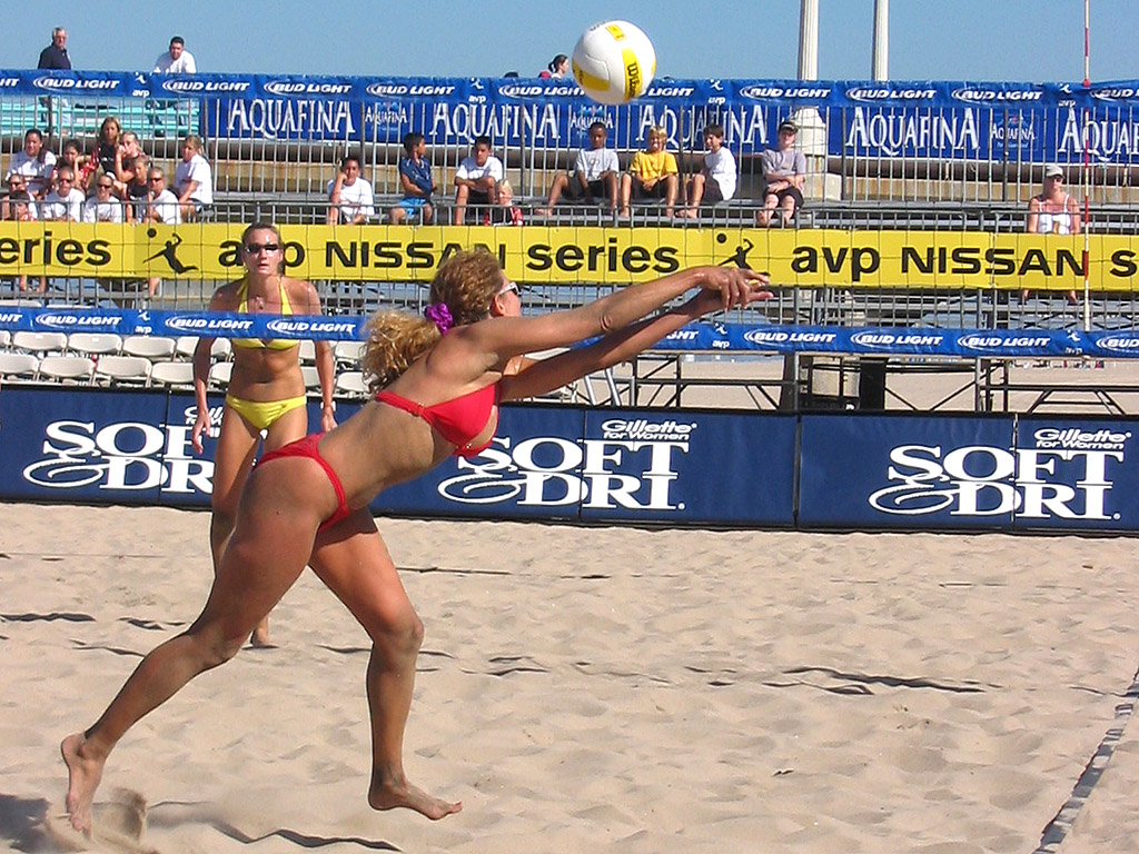 Manhattan Beach Volleyball The Best Beaches In World